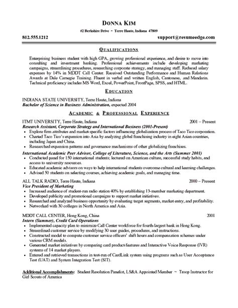 resume for student entering colege resume for high school students entering college http