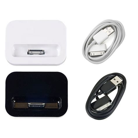 apple iphone 4 charger 2 in 1 for apple iphone 4 4s stand base cradle dock