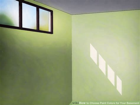 3 ways to choose paint colors for your basement wikihow