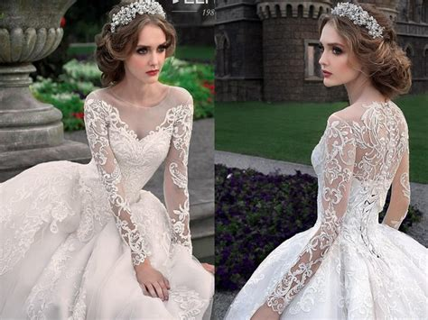 Long Sleeves Wedding Dresses From Belfaso
