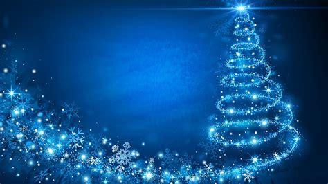 Blue Christmas Wallpaper Hd