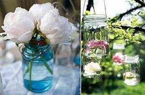 vintage wedding ideas mason jars ceremony reception decor With ideas for decorating mason jars for wedding