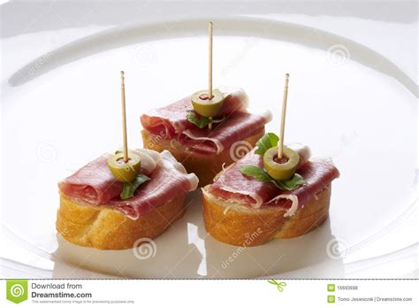 canape service different sort of canape royalty free stock photos image