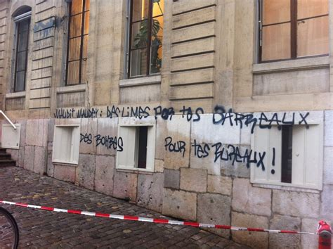 magistrat du si鑒e vive le vive le vandalisme le noir émeutier