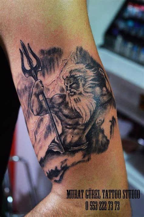 poseidon tattoo tattoo artist  murat guerel manisa