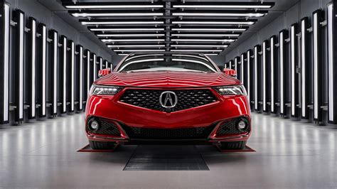 acura tlx pmc  hand built   nsx factory