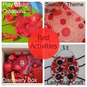 Color Red Activities for Preschoolers