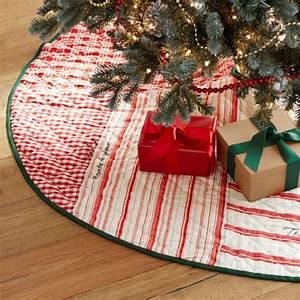christmas tree skirtsrustic christmas tree skirt boxy With christmas tree skirt pottery barn