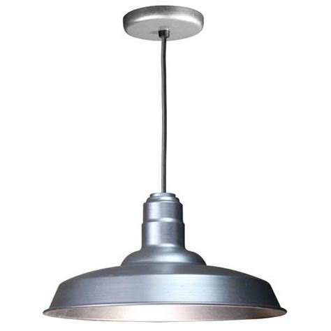 galvanized vintage warehouse lighting bellacor