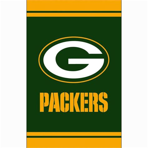 home depot green bay fan essentials 1 ft x 1 1 2 ft green bay packers 2 sided
