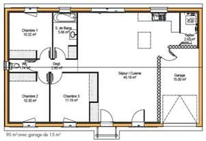 plan de construction de maison gratuit maison moderne