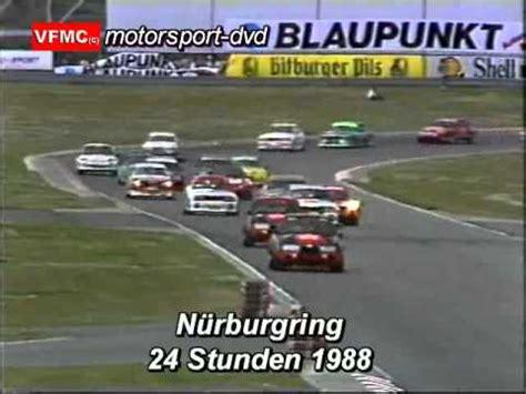 24 Stunden Nürburgring 1988 Touringcar Race 24hours