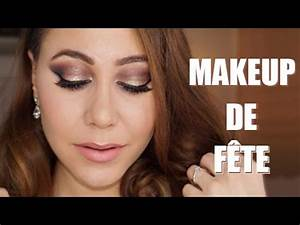 Maquillage De Fête : maquillage de f te nouvel an 2016 colashood2 youtube ~ Melissatoandfro.com Idées de Décoration