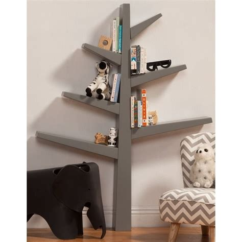 babyletto spruce tree bookcase babyletto spruce tree bookcase in gray m4626g