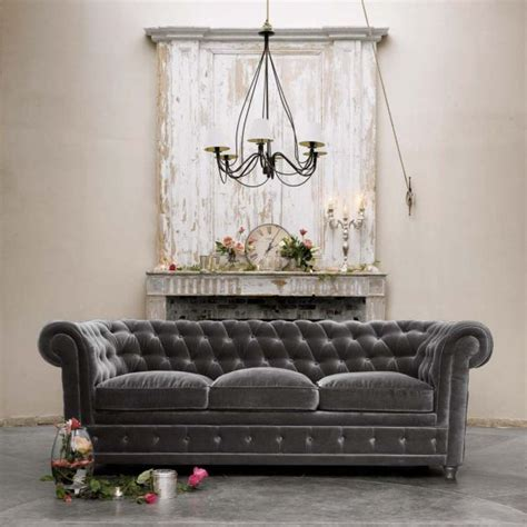 tufted velvet sofa gray 50 shades of grey the new neutral foundation for interiors