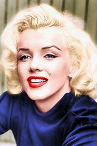 Marilyn Monroe Color by Sasha065 | Old Hollywood ...