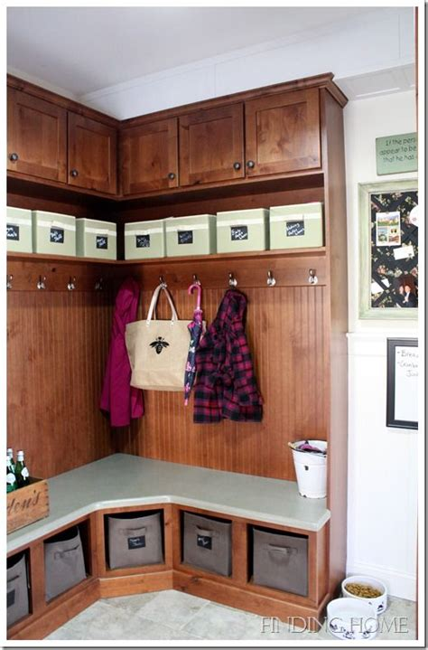 corner mudroom bench revisited traditional home tour at finding home 2616
