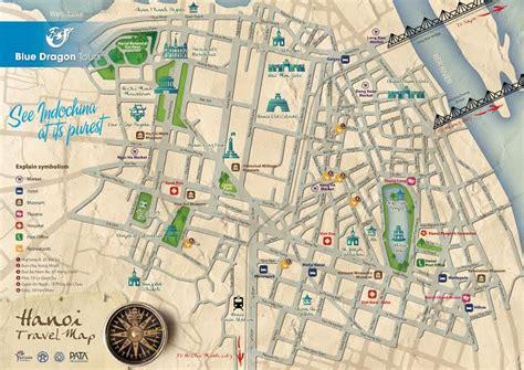 hanoi  quarter map