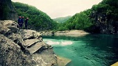 Whitewater Rafting On The Trebbia River in Emilia Romagna ...