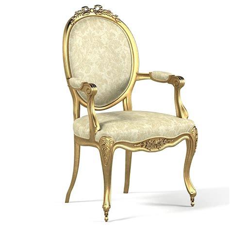 Versailles Armchair by Versailles Nursing Armchair 3d Obj