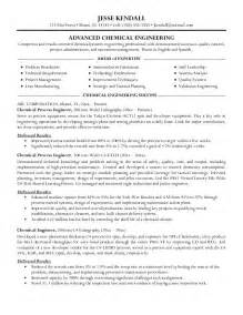 resume personal statement exles engineering chemical engineer resume exles ou visit to the proper news for an appropriate