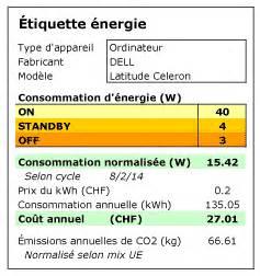 Etiquette Energie Voiture : une tiquette nergie pour les ordinateurs ~ Medecine-chirurgie-esthetiques.com Avis de Voitures