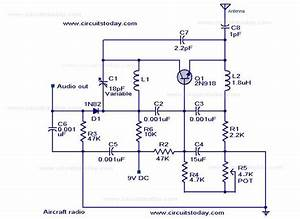 Simple Aircraft Radio Circuit