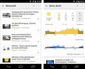 Google News & Wetter - Androidmag