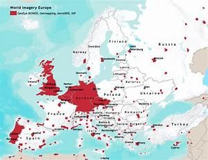 World Imagery Europe Coverage Map