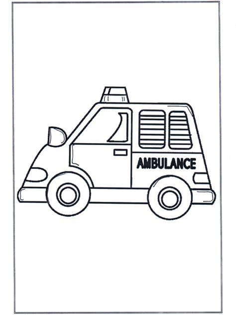 krankenwagen malvorlagen autos