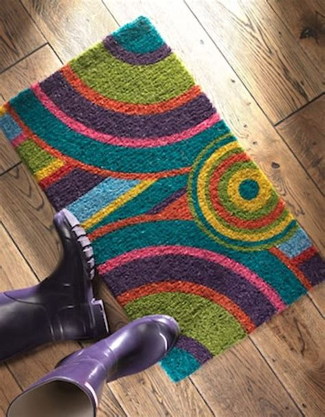 Funky Doormat by What A Fabulous And Funky Doormat Eye For Your