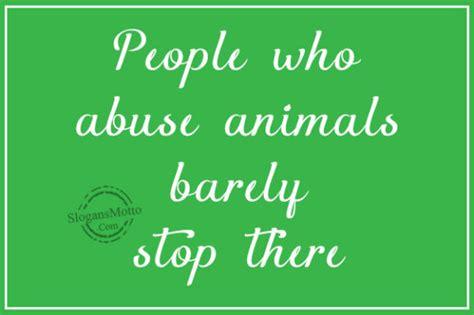 slogans  cruelty  animals page