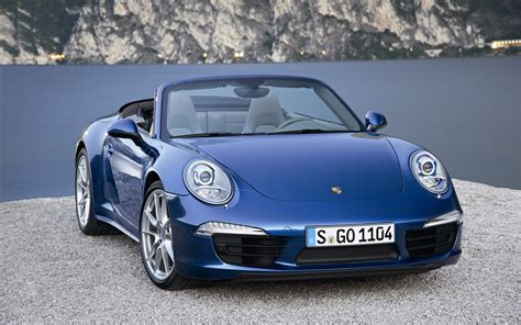 Porsche 911 Carrera 4 Cabriolet 2013 Wallpaper