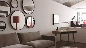 Miroir Deco Salon : o placer un miroir dans mon salon ~ Melissatoandfro.com Idées de Décoration