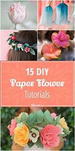 15 diy paper flower tutorials tip junkie