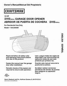 Genie Is550 Garage Door Opener Manual