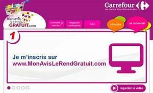 Credit Carrefour Avis : carrefour propose des produits gratuits en grande distribution et consommation ~ Medecine-chirurgie-esthetiques.com Avis de Voitures