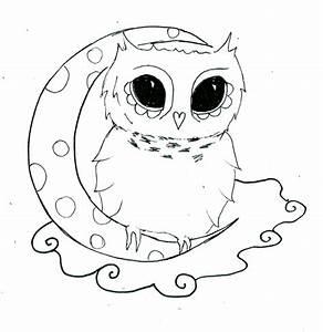 Easy Owl Drawings