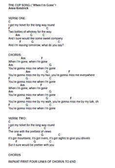 cup song ukelele   ukulele chords songs guitar