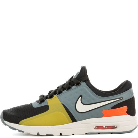 total si鑒e nike 39 s air max zero si shoe black light bone cool grey total crimson