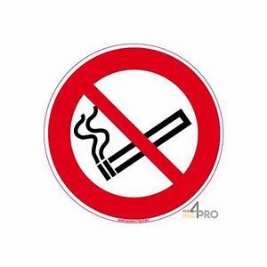 Panneau Interdiction De Fumer : panneau rond interdiction de fumer 6 4mepro ~ Melissatoandfro.com Idées de Décoration