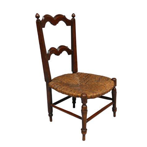 chaise paillée chaise paille fin xixe la marelle mobilier et déco