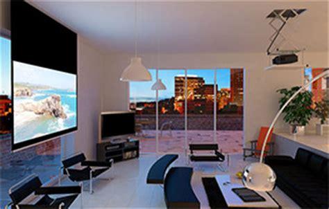 distance ecran videoprojecteur canapé ecrans de projection home cinéma easylounge