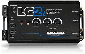 Audiocontrol 2 Kanal High Low Med Accubass U00ae  U0026 Subwoofer