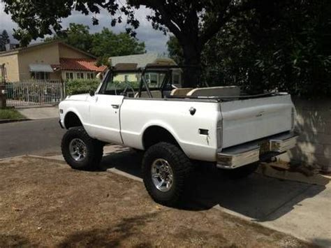 Sell New 1969 Chevy K5 Blazer In Montrose, California