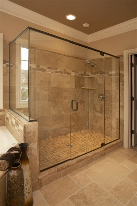 big shower    add  shower head