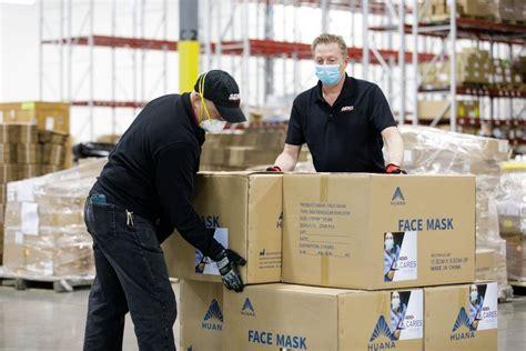 SEKO Distributes Protective Equipment to Their Frontline Staff