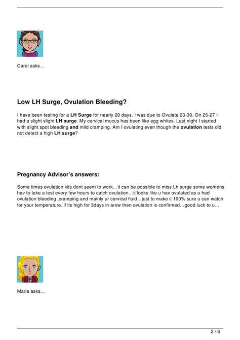 lh surge ovulation