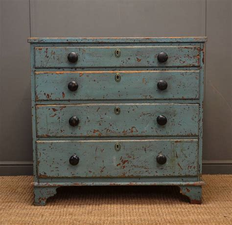 antique chest of drawers rustic painted georgian antique chest of drawers