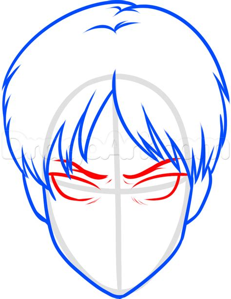 How To Draw Eren Easy, Step By Step, Anime Characters